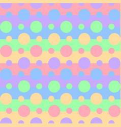 seamless pattern vibrant rainbow colors vector image