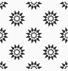 abstract seamless pattern of stars vector image