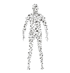 Human icon vector