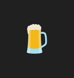 Image draft beer - draught or draft beer or vector