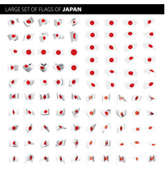 japan flag vector image