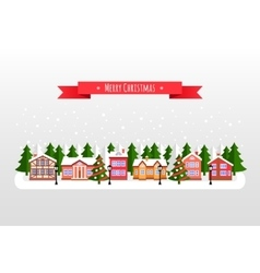 New year and Xmas Holidays design vector image