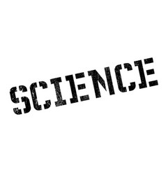 Science rubber stamp vector