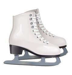 Skates icon vector