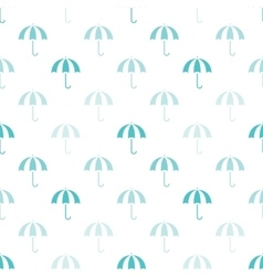 vintage umbrellas seamless pattern Cute vector image