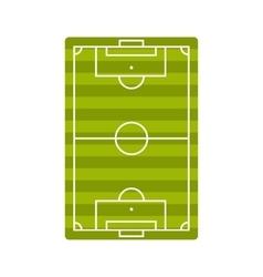 Football playground icon vector