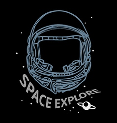 Space explore vector image vector image