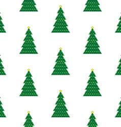 Xmas tree background vector image