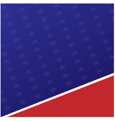American flag symbols background vector