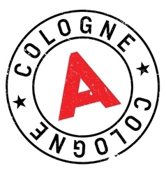 Cologne stamp rubber grunge vector
