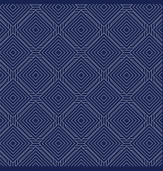 grey geometric seamless pattern square vector image