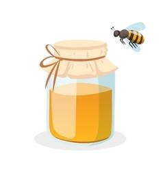 Honey bank vector image