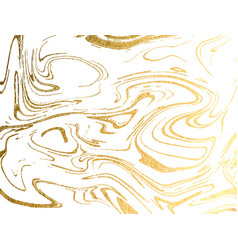 Marble gold background marbling texture design vector