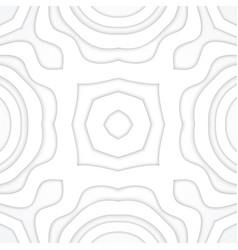 Monochrome volumetric decoration background vector