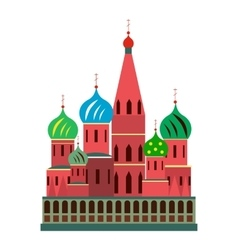Saint Basil cathedral vector image