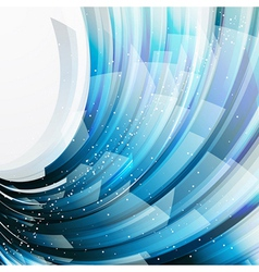 abstract background wiht transparent blue-gray vector image