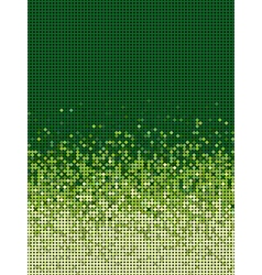 bubble gradient pattern in green and yellow vector image