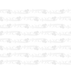 gray rose on a white background vector image