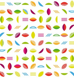 Abstract colorful seamless background vector image