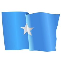 flag of Somalia vector image vector image