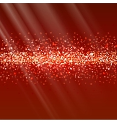 Glitter and bright sand dark background vector image vector image