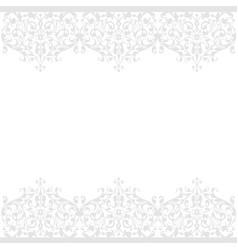 seamless pattern of vintage floral background vector image