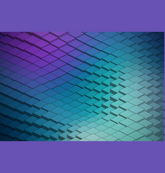abstract technological waveform backround vector image