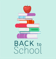 back to school and education vector image