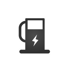 charging station for electric car icon charging vector image