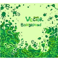 Doodle background with space for your text vector