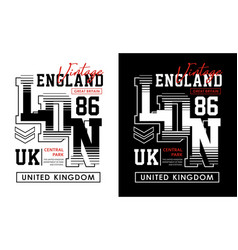 London typography design t-shirt graphics vector