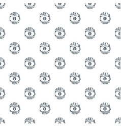 make money pattern seamless vector image