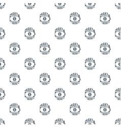 make money pattern seamless vector image