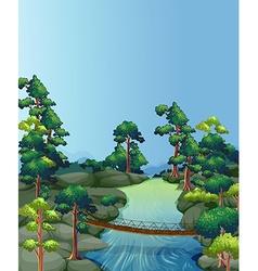 River scene vector