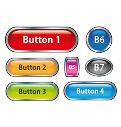 Buttons001 vector image vector image