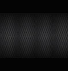 geometric polygons background black metal vector image vector image