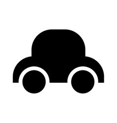 Baby car toy vector