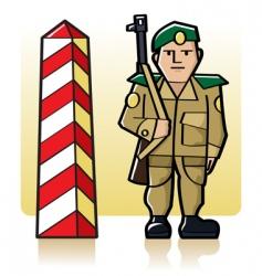 Border guard vector