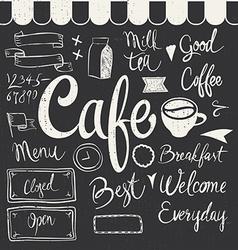 Cafe Set vector image