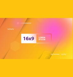 futuristic design orange background templates for vector image