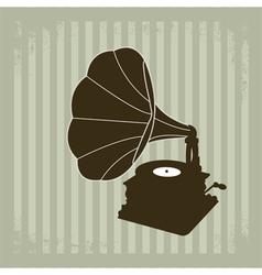 Gramophone 2 vector image
