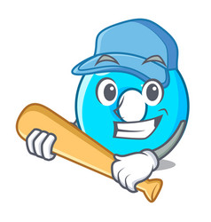 Playing baseball the number zero on the character vector