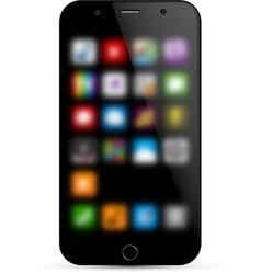 Realistic smartphone concept vector image