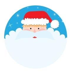 Santa Claus Portrait vector image