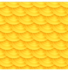 seamless pattern honeycombs vector image