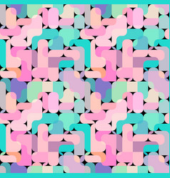 seamless square pattern abstract color vector image