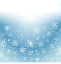 Silver winter abstract background Christmas with vector image