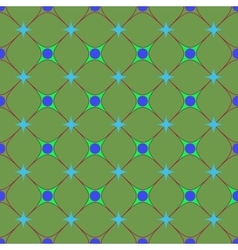 Circle and square seamless pattern vector image vector image