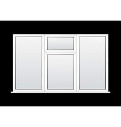 modern window vector image