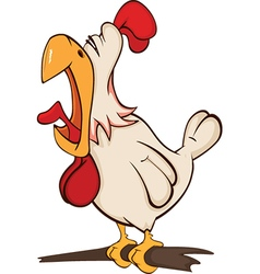 Cockerel Cartoon vector image